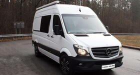 Kastenwagen on Mercedes-Benz Sprinter