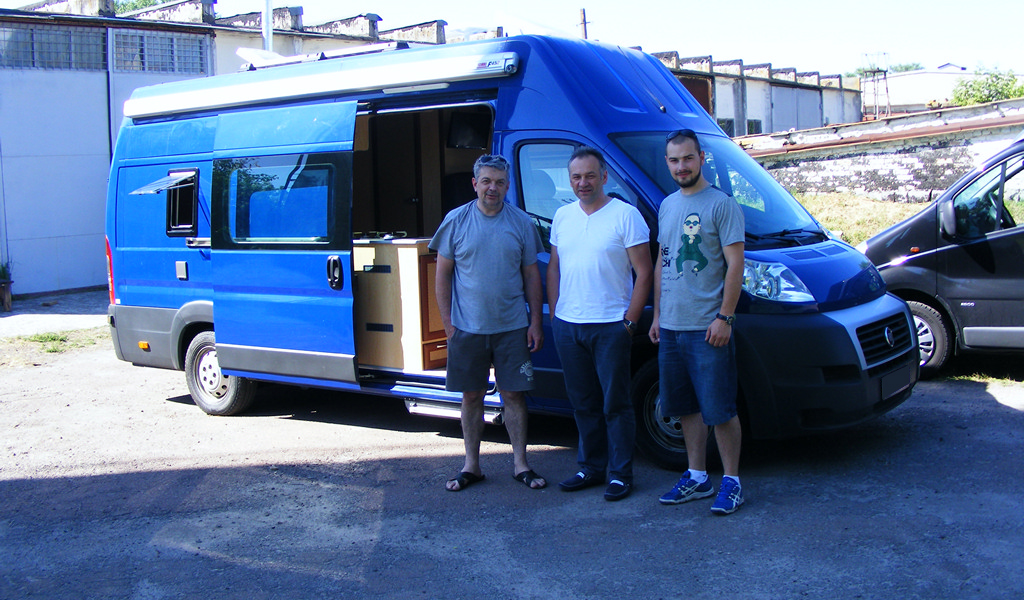 Conversion Fiat Ducato