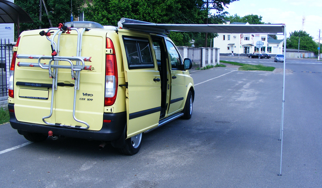Conversion Mercedes Vito to camper