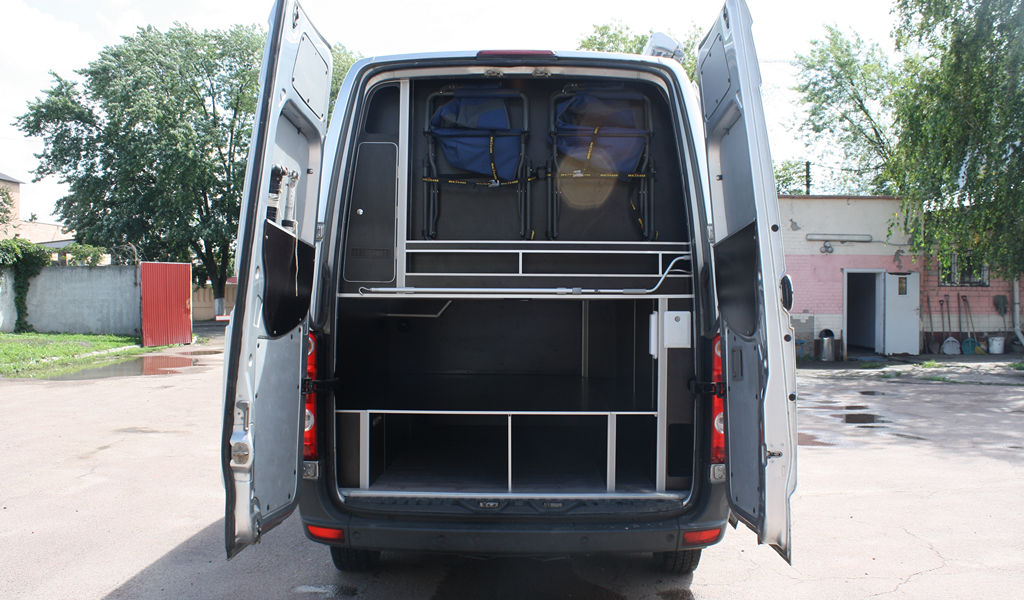 Conversion VW Crafter into camper | Re-equipment VW CARFTER | VW