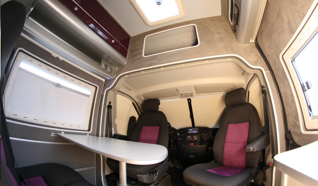 Conversion camper Citroen Jumper L4H2